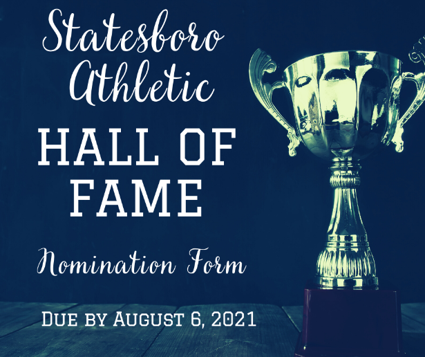 athletic hall of fame nomination form