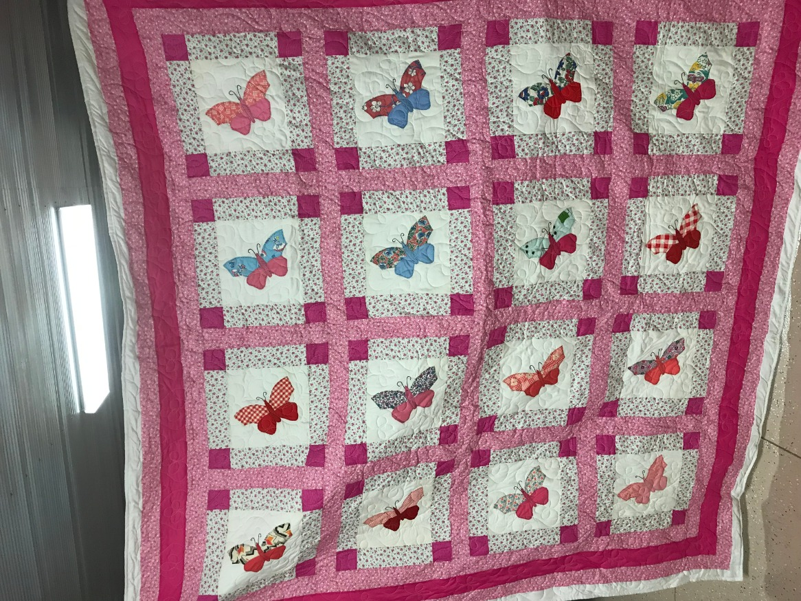 Quilt to be raffled off October 25.