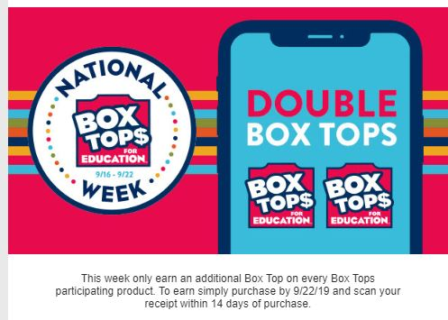 Earn Double Points This Week!