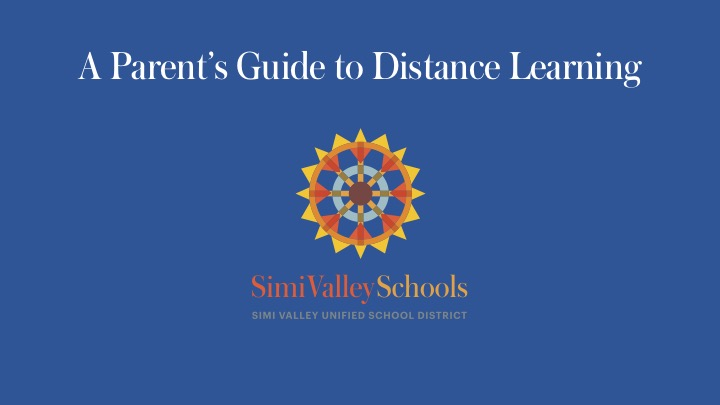 Parents Guide to Distance Learning