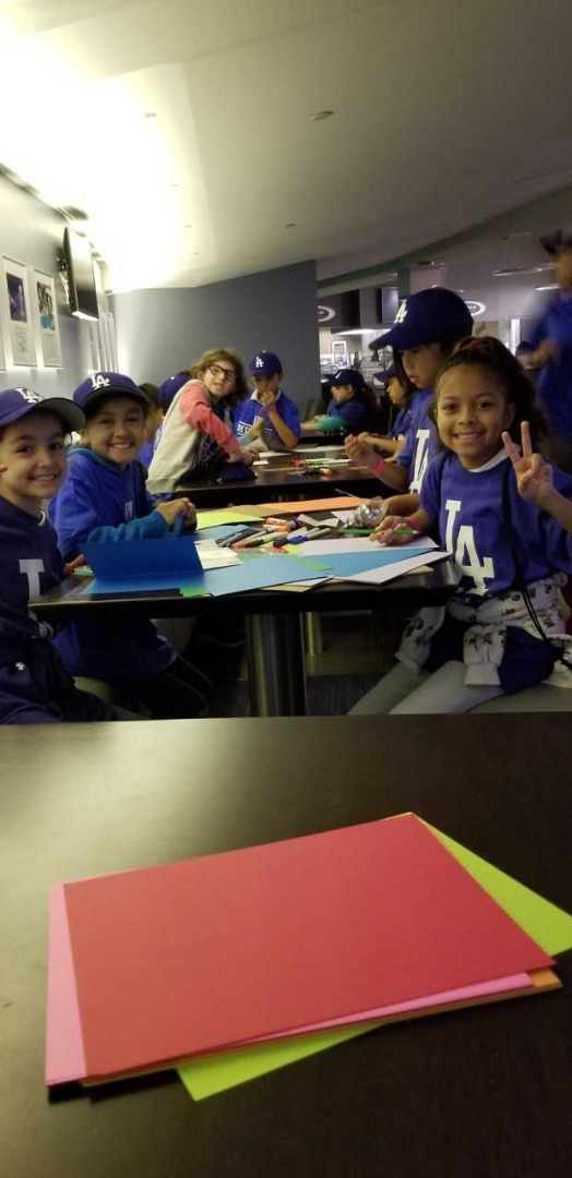 Dodgers Kids Event