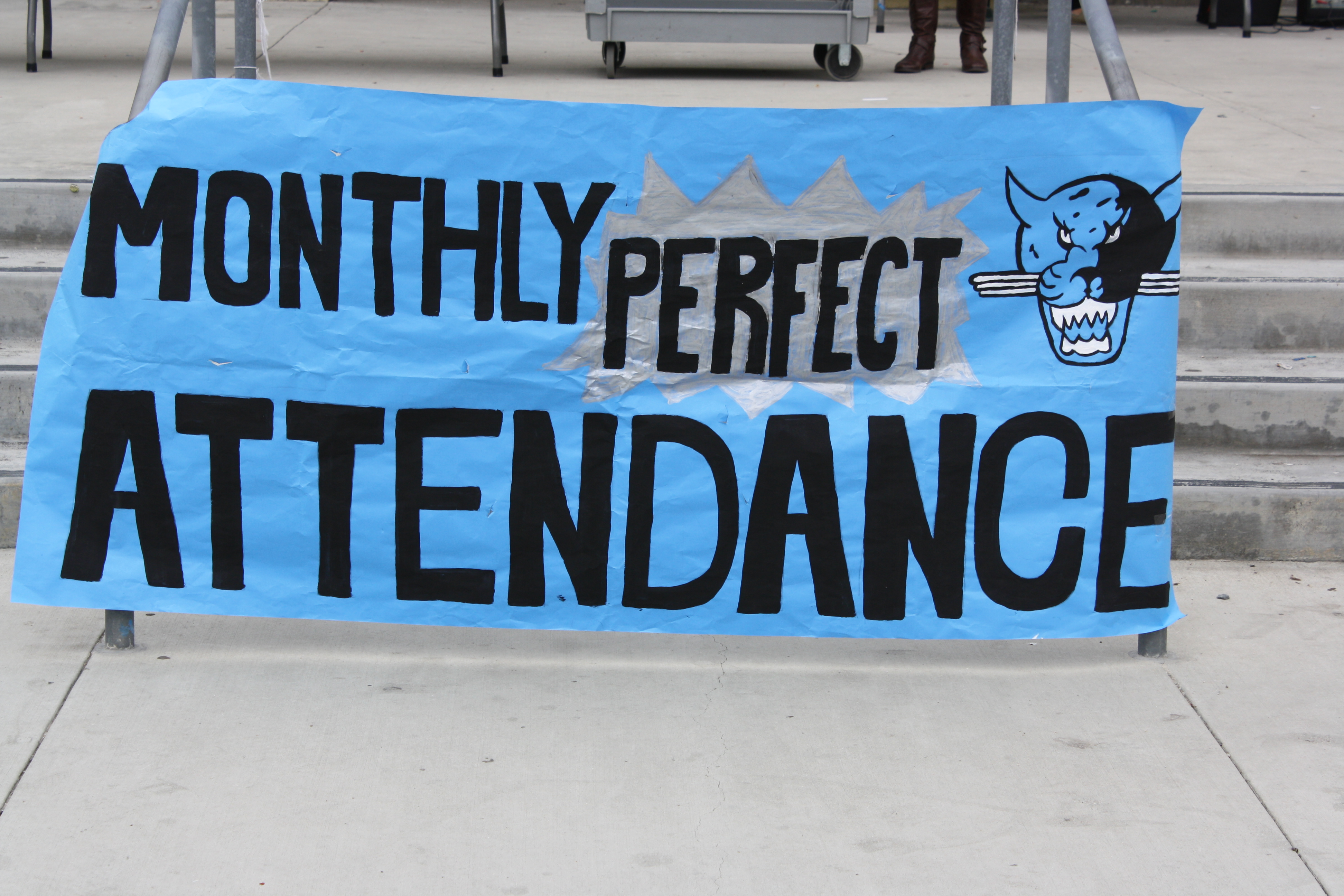Month of April Perfect Attendance Recognition Ceremony