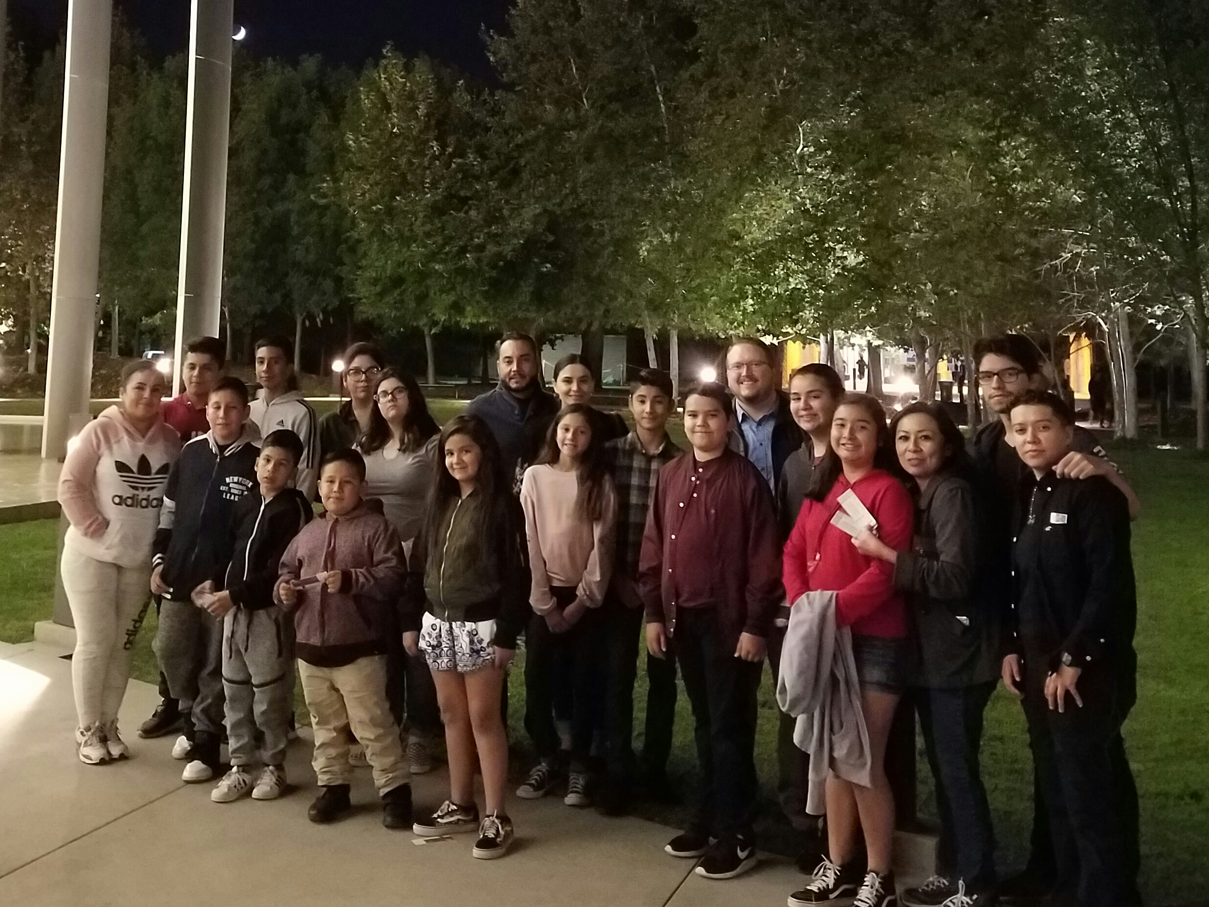 SLA at CSUN for Fall festival Band Concert