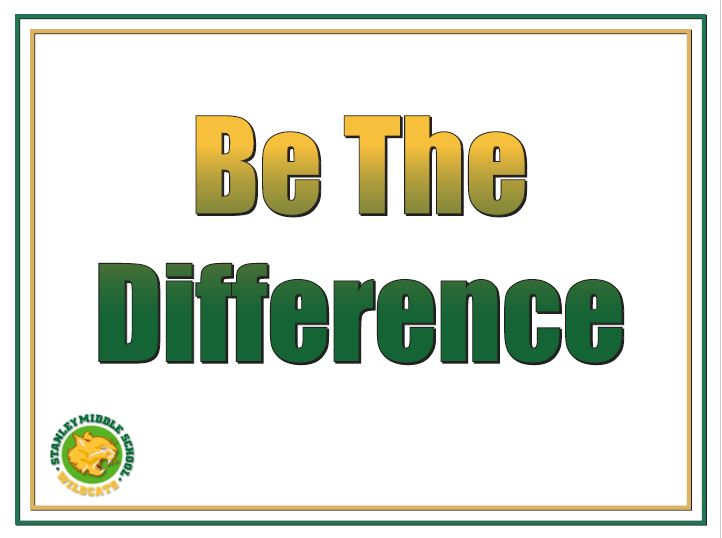 Be The Difference Theme Logo