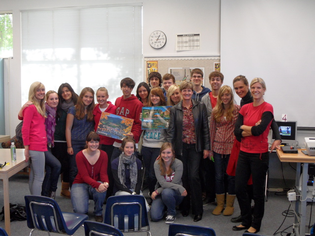 Stanley German students host visitors from Germany