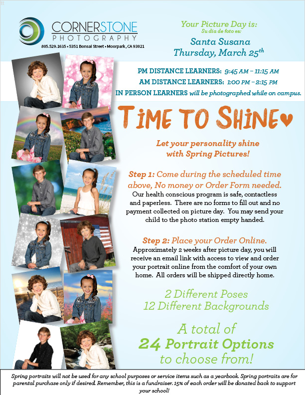 Time To Shine flyer