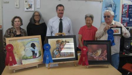 Adult Ed Art Class 2013 SM County Fair winners