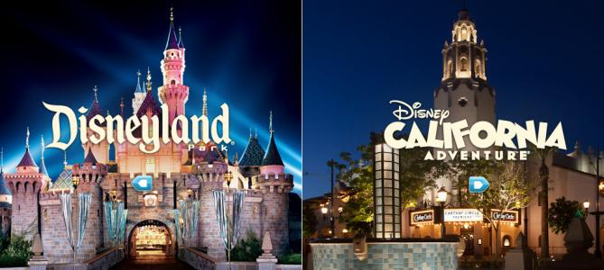 Disneyland and California Adventure images