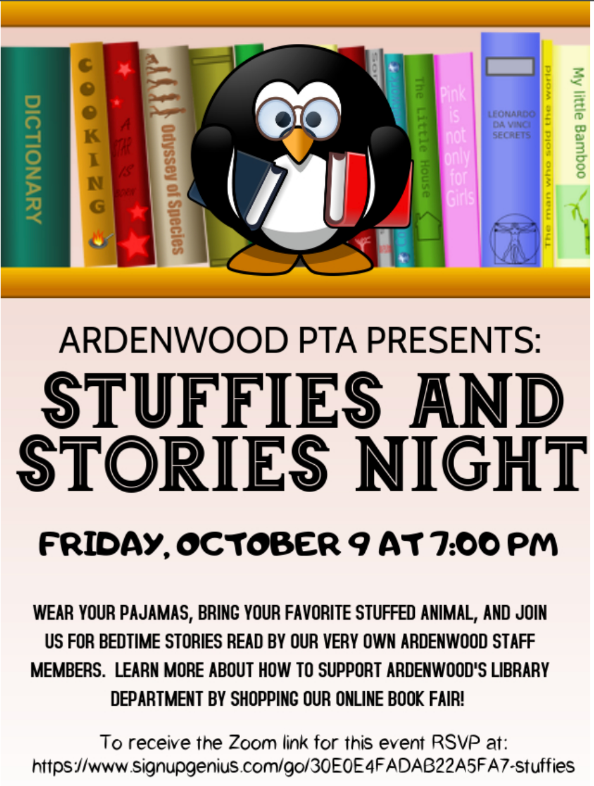 Stuffies and Stories Night