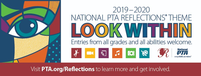 PTA Reflections theme - look within