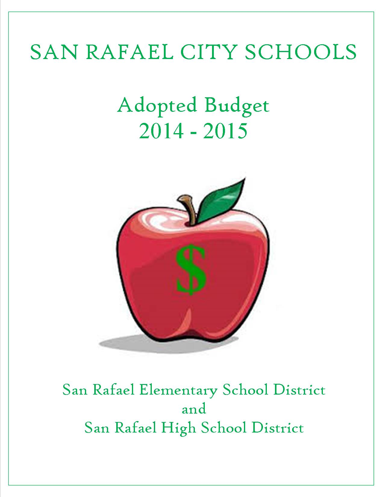 Adopted Budget 14 15