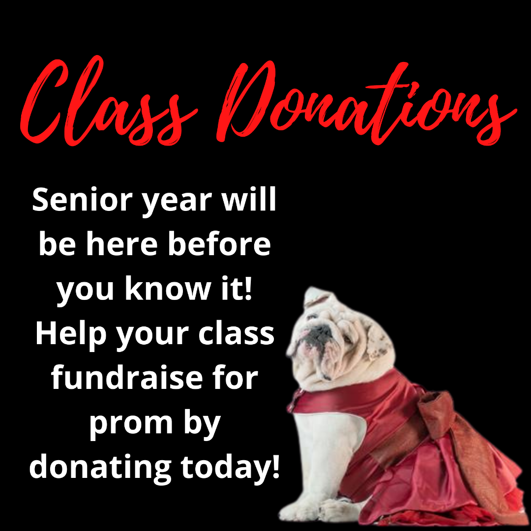 class donation link