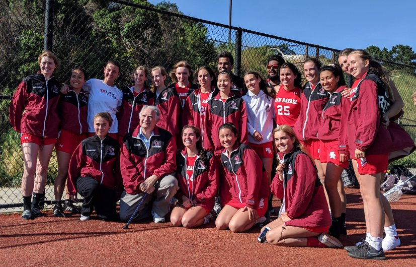 San Rafael Girls Lacrosse Qualifies for NCS During their First Varsity Season