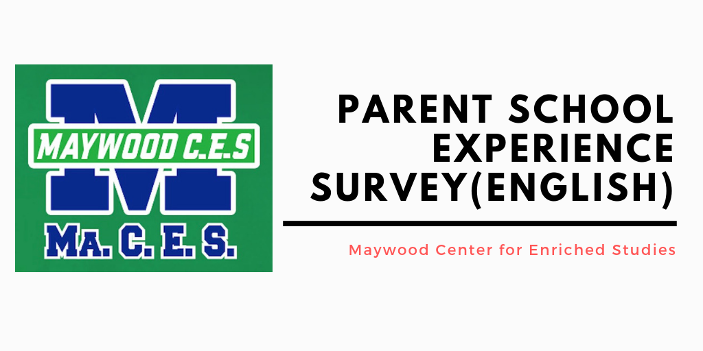 Parent Survey English