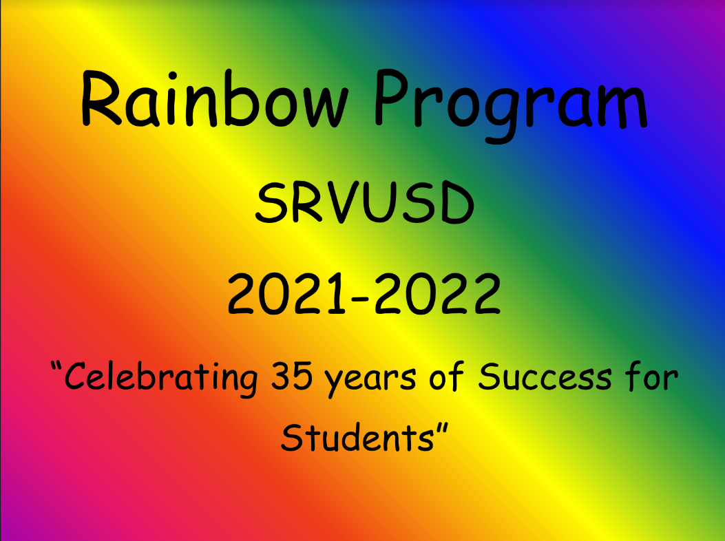 Rainbow Cover page