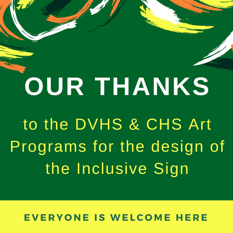Thank you DVHS and CHS Art Programs