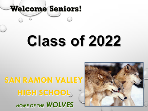Class of 2022 first page