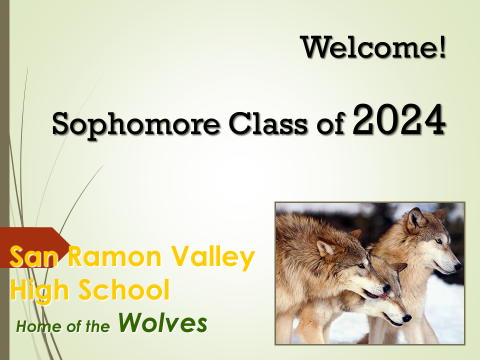 Class of 2024 first page