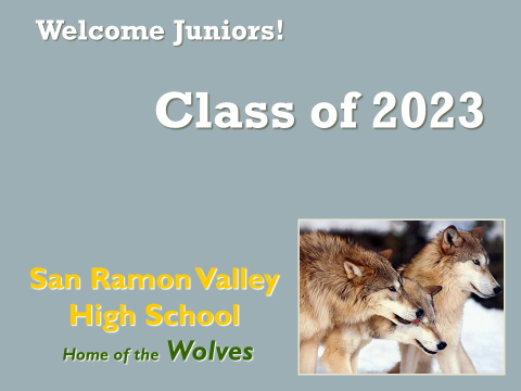 Class of 2023 first page