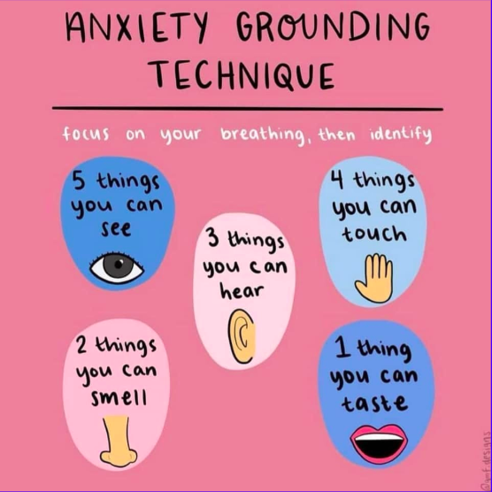 Anxiety Grounding Technique
