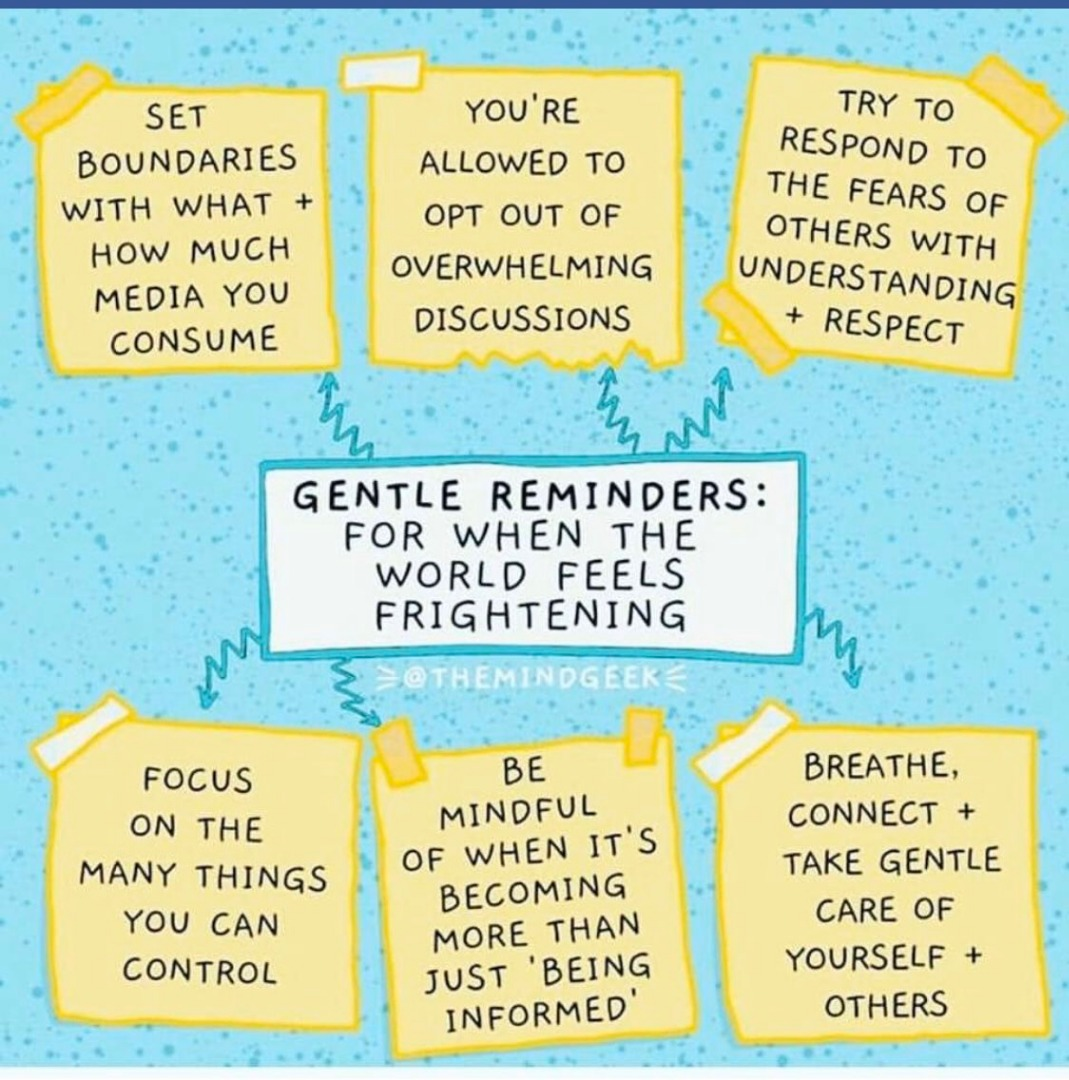 Gentle Reminders for self care