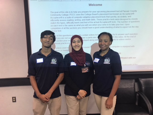 STEM Students attend Program Run by the Passaic County Government