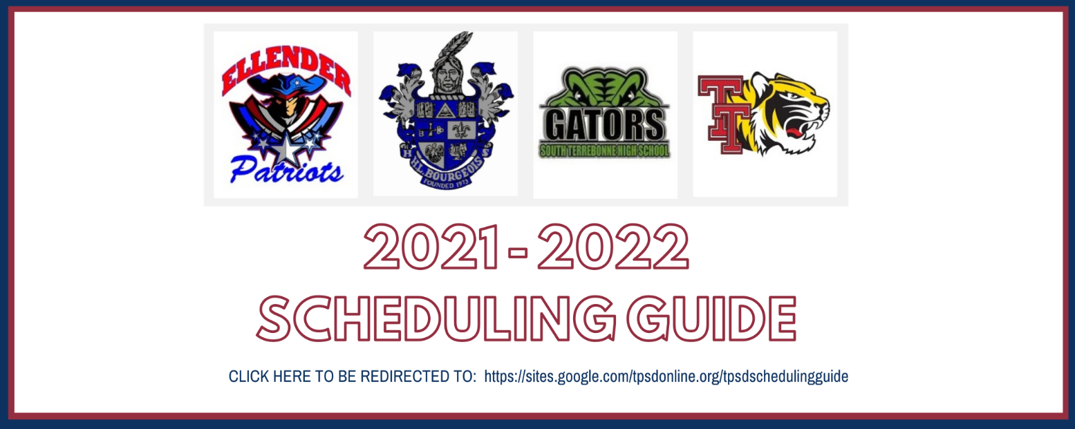 2021-2022 Scheduling Guide