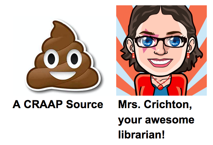 Ms. Crichton is awesome