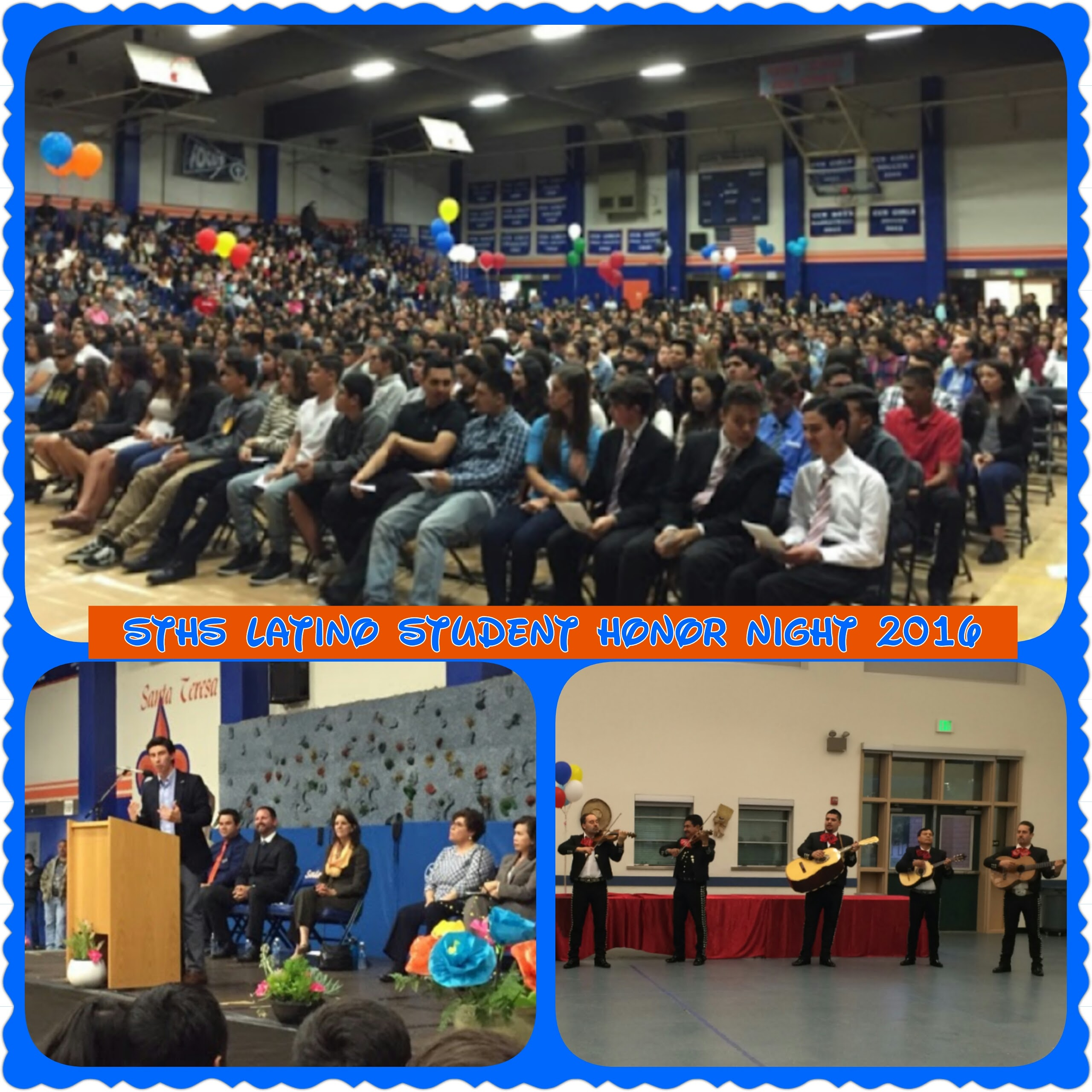 STHS Latino Student Honor Night 2016