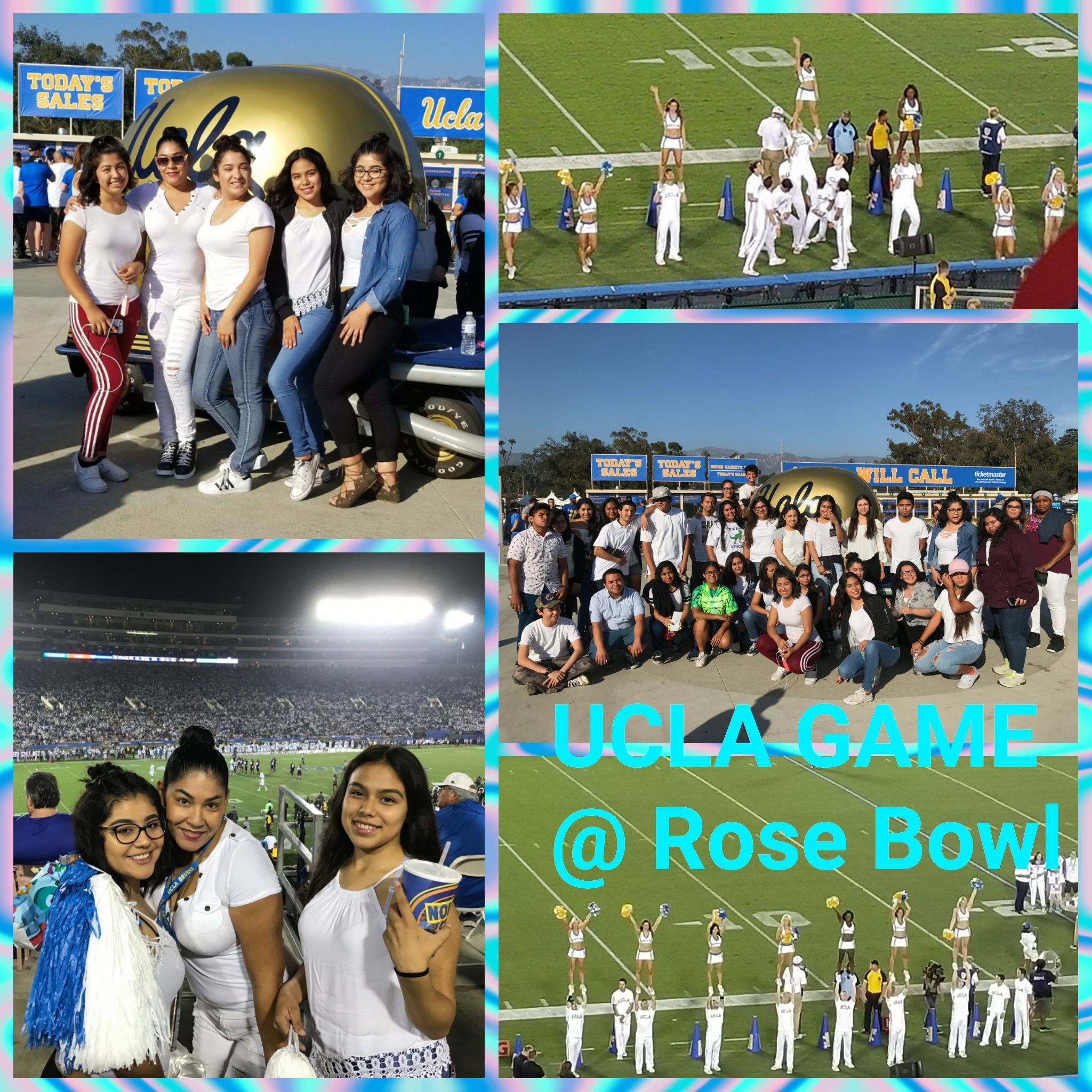 S:UCLA : Going to College Field trip 9/30/2017