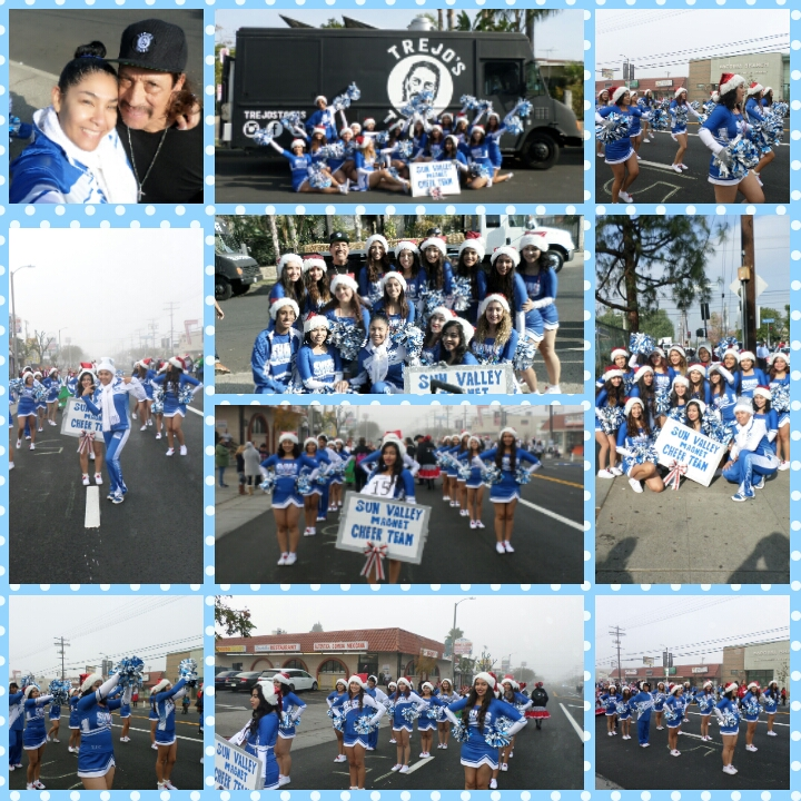 Cheer team 1ST Parade 2016