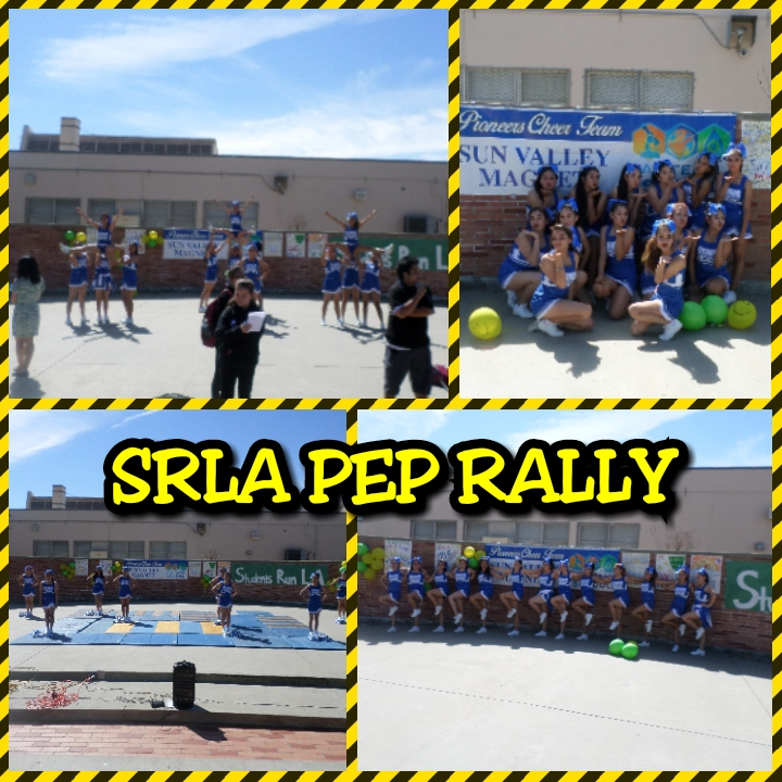 SRLA / CHEER ALLEY PEP RALLY 3/11/2017