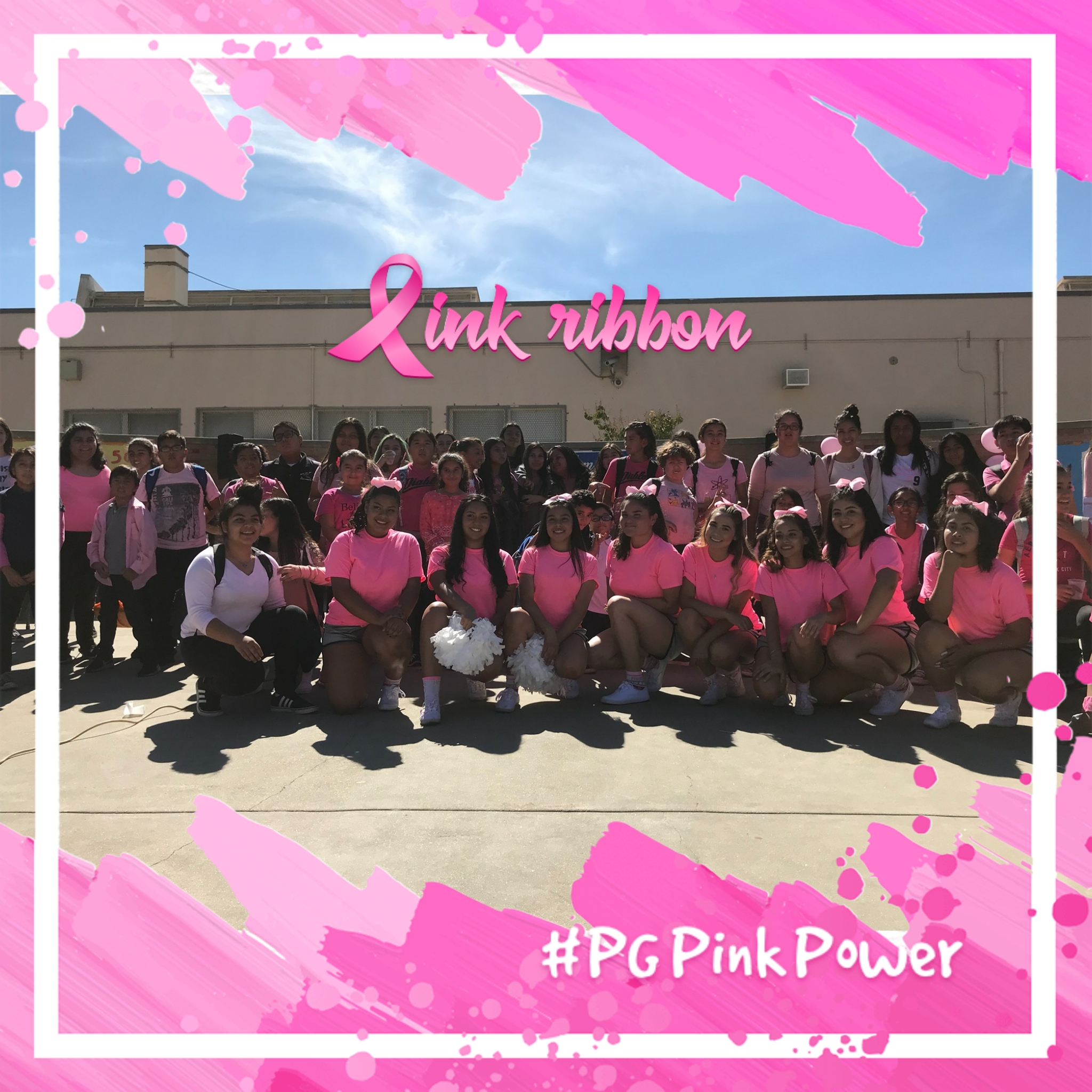 Cancer Awareness Pep Rally- Cheer 10/17/17
