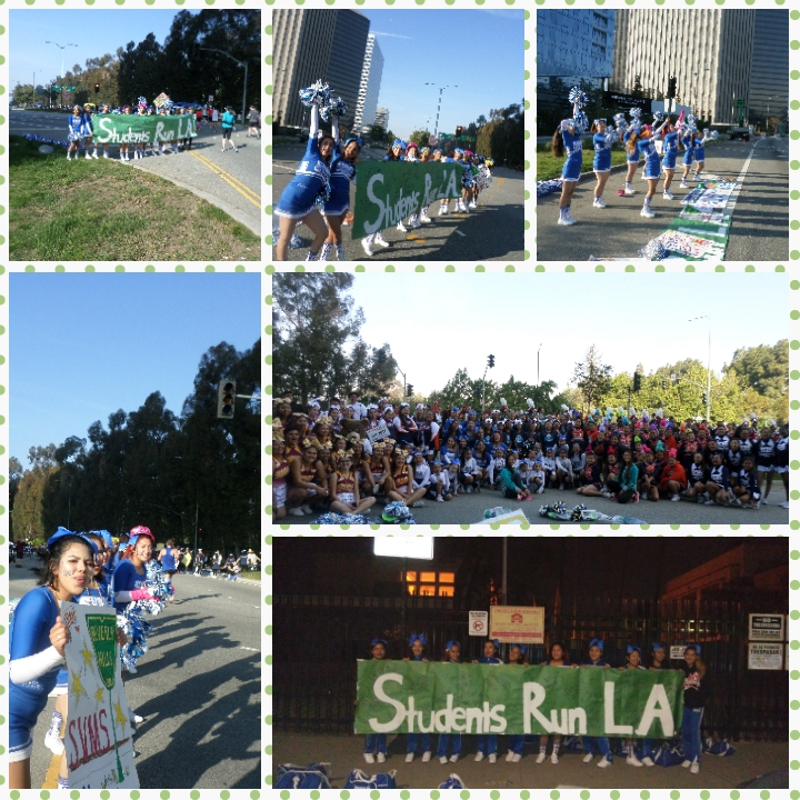 Los Angeles Marathon : Cheer Alley March 19,2017