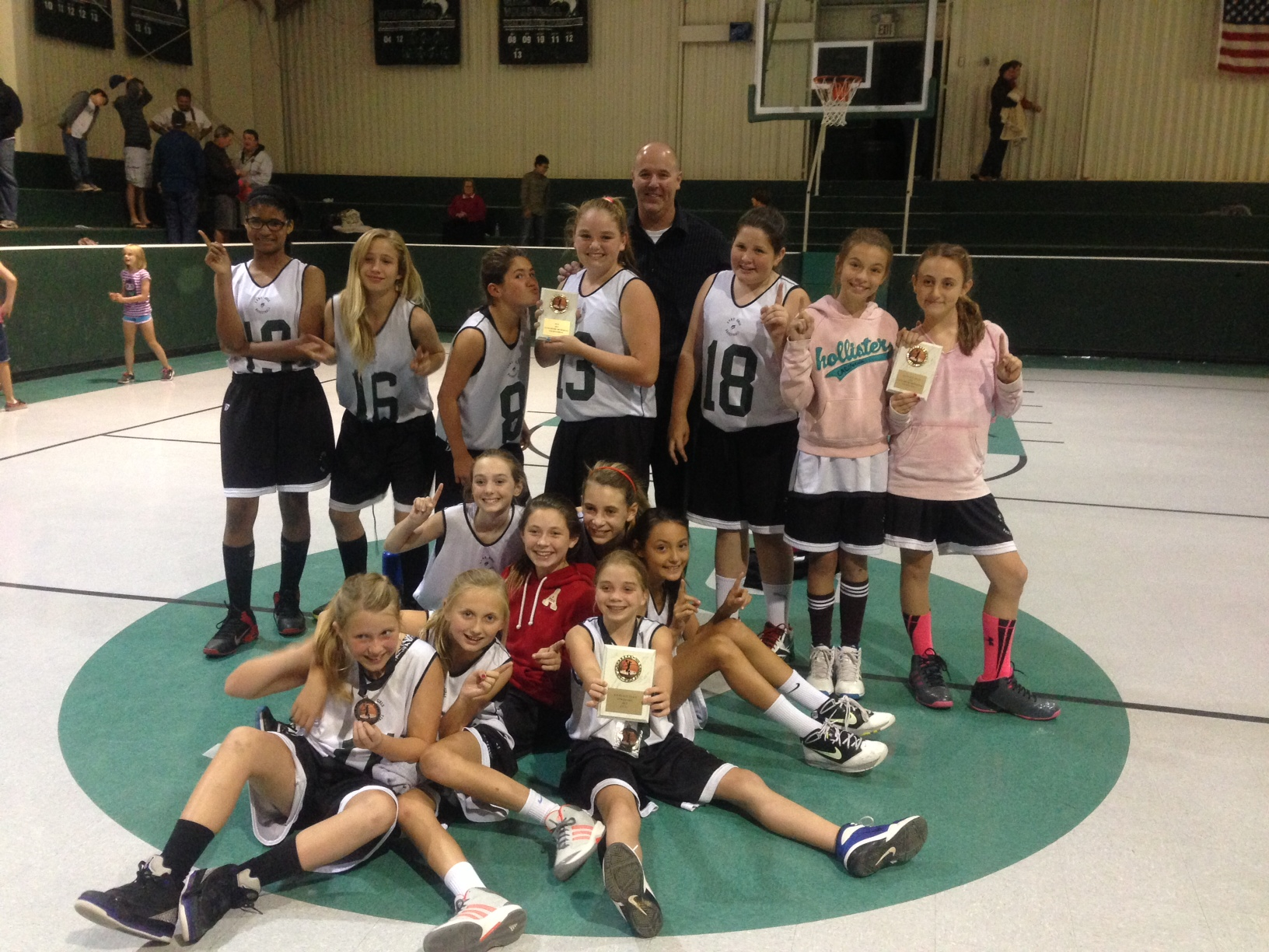 Lynn Be2013 6th Grade Girls Basketball Tournament Champions!