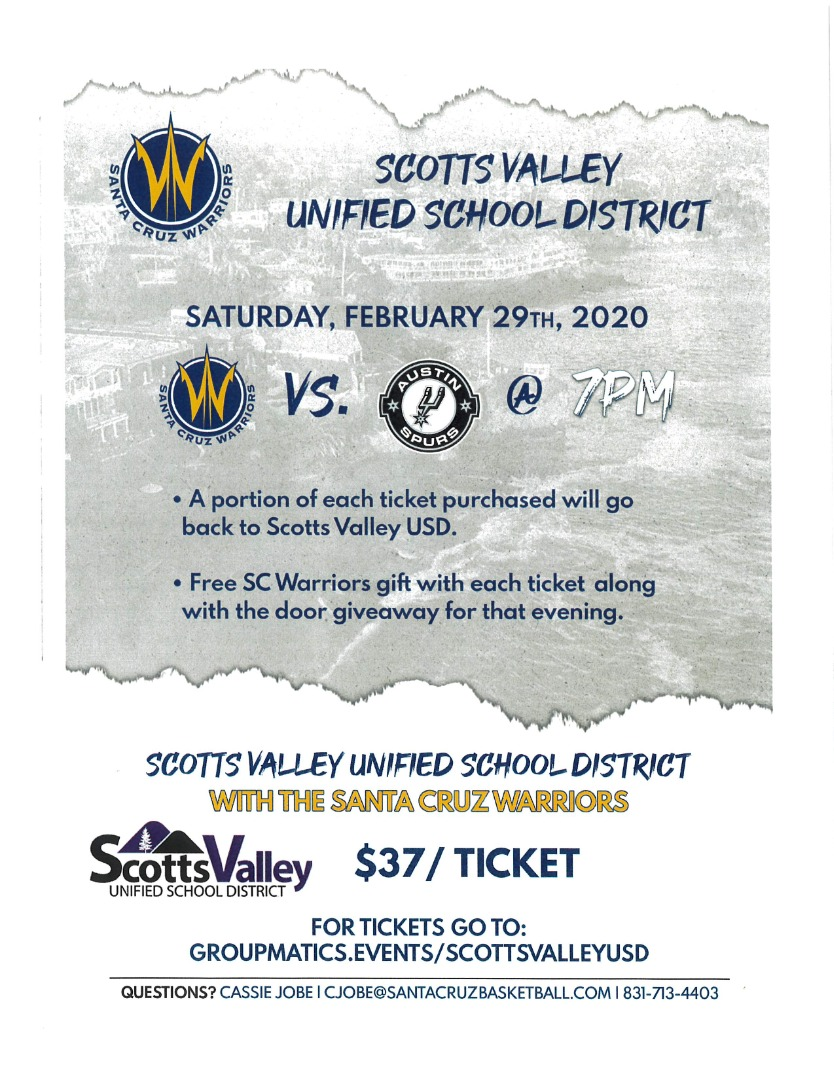 Svusd Warriors Game
