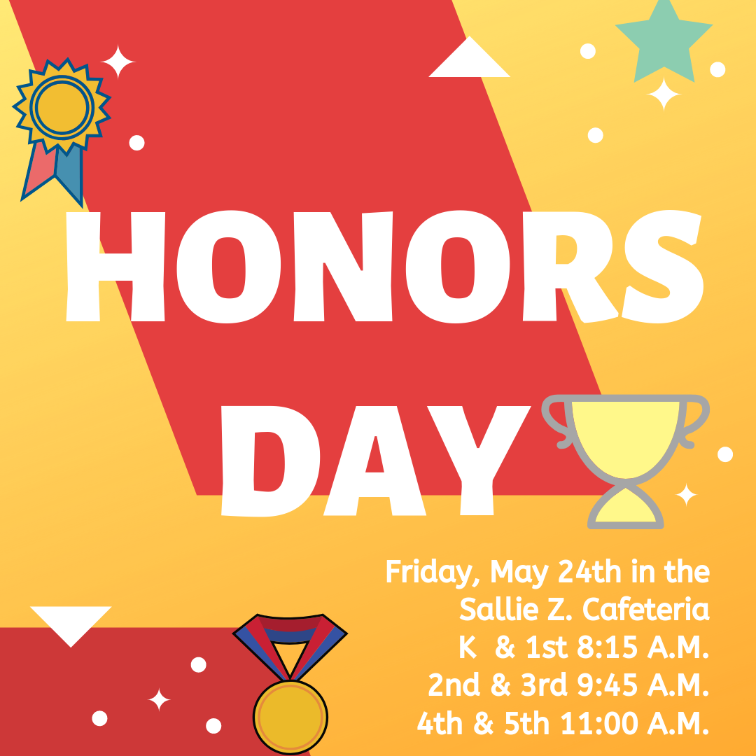 honors day flyer