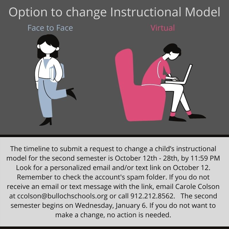 Change Instructional Model Option